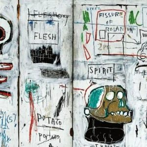 Jean Michael Basquiat art work